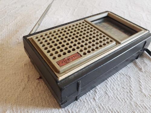 radio antigo motoradio 1980 3 faixas mi-110 *defeito*