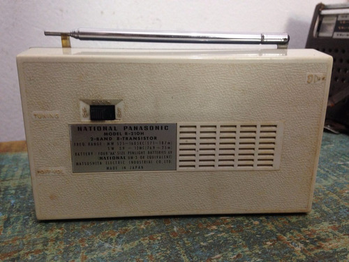 rádio antigo national panasonic r-210h #1292