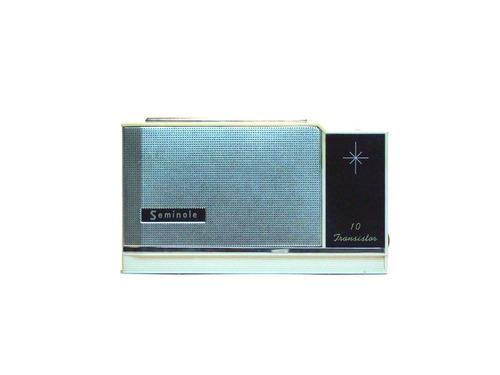radio antigo seminole 1001 am com capa : onda média