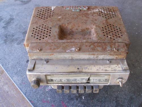 radio antigua auto camioneta accesorio repuestos philco