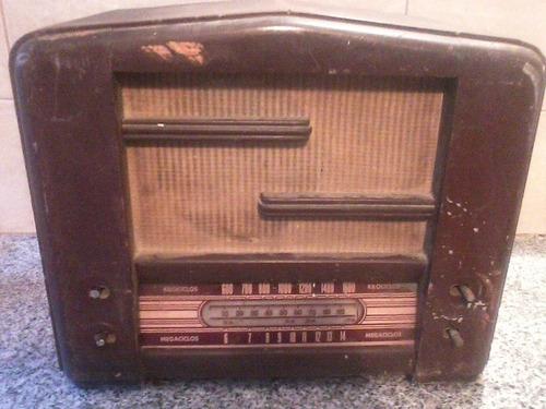 Radio antigua mueble de madera p restaurar leer 1 for Restaurar muebles de madera