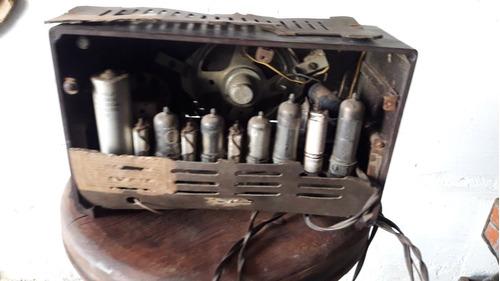 radio antigua philips a valvula coleccionista vintage bar