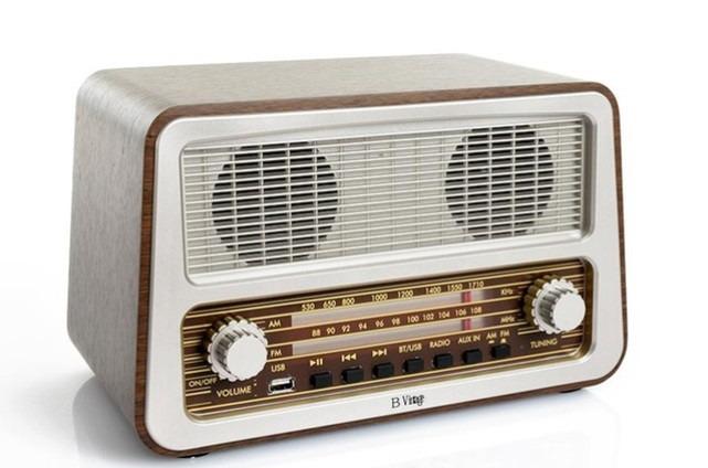 Radio antigua vintage con funcion bluetooth y entrada usb en mercado libre - Fotos radios antiguas ...