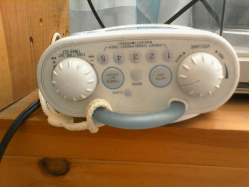 radio  antiguo sony