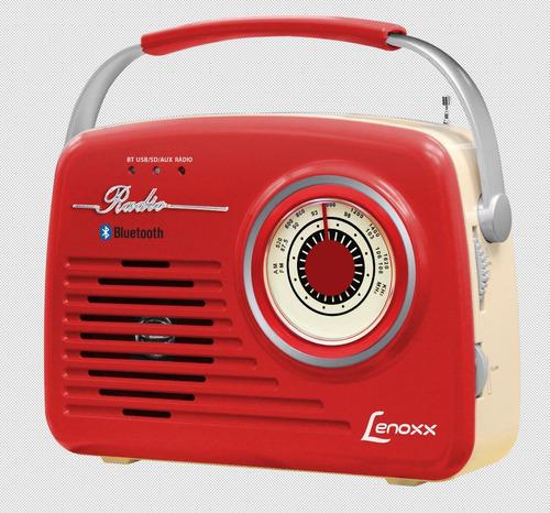 rádio audio retrô lenoxx rb 80 bivolt
