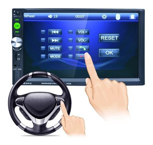 radio auto 2 din mirror link+ mando volante ml2334