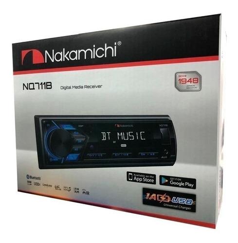 radio auto camioneta nakamichi nq711b usb bluetooth 2 rca