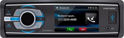 radio auto multimedia pósitron sp4730dtv 3'' dvd usb bt