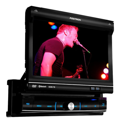 radio auto multimedia pósitron sp6720dtv 7'' dvd  bt