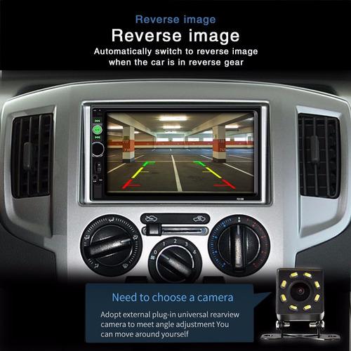 radio auto pantalla mirror link bluetooth video usb control