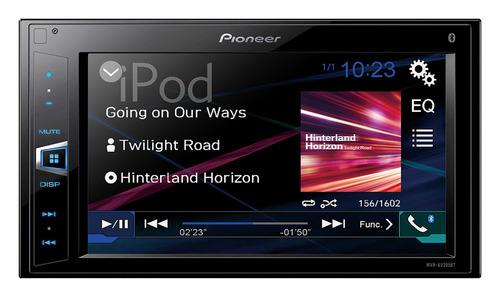 radio auto pioneer mvh-av275bt pantalla 6,2 bluetooth usb