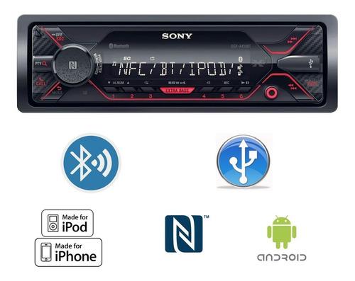 radio auto sony dsx-a410bt usb am fm bluetooth