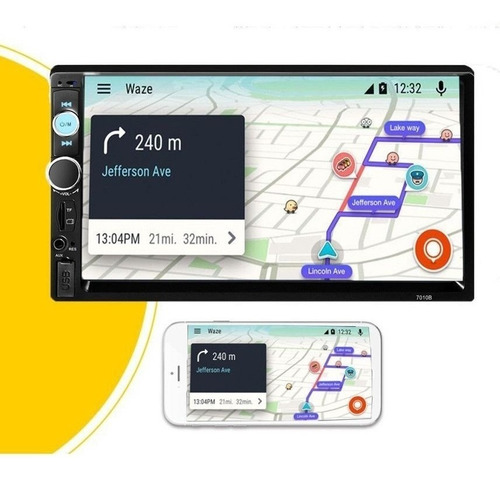 radio auto touch mirrorlink camara retroceso bluetooth/ tech