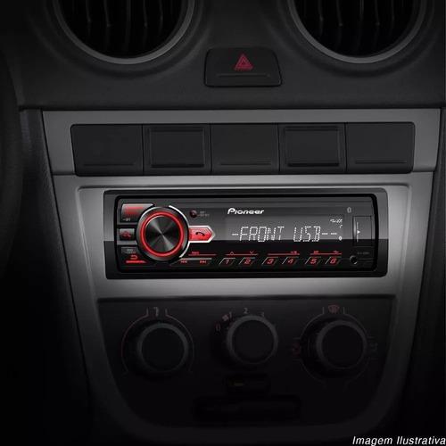 radio automotivo bluetooth pioneer mvh-298bt usb