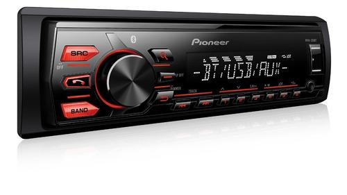 radio automotivo bluetooth pioneer mvh-298bt usb modelo 2017