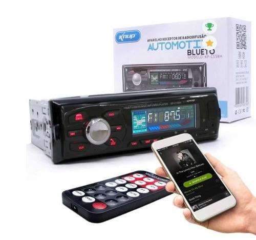 radio automotivo knup kp-c15bh mp3 player bluetooth