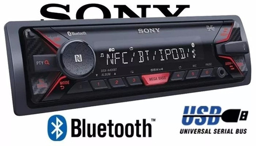 radio automotivo sony dsx a400bt usb bluetooth. Black Bedroom Furniture Sets. Home Design Ideas