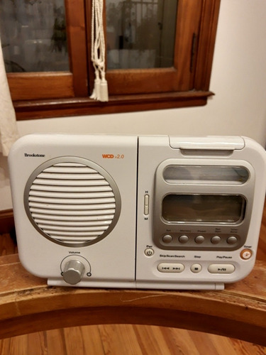 radio baño brookstone