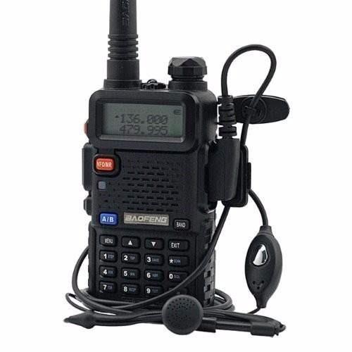 rádio baofeng fone