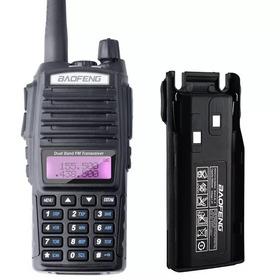 Radio Baofeng Uv-82 Ht Dual Band Bateria 5000mh 8w Fone