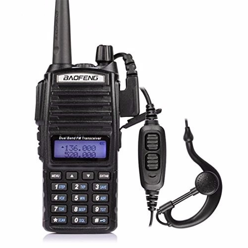 radio baofeng uv-82l two way radio (black)