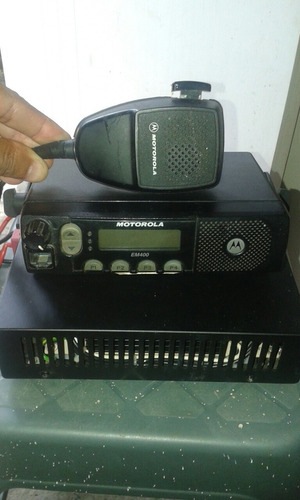 radio base movil motorola em 400 (usado)