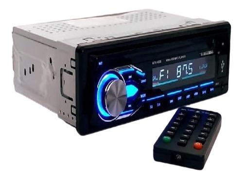 radio bluetooh para carro usb auxiliar sd pantalla lcd fm
