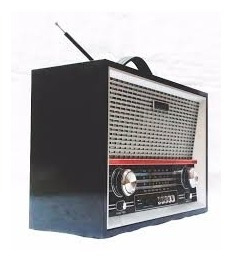 radio bluetooth retro mp3 caixa som usb madeira com controle