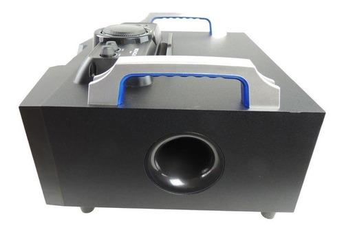 rádio boombox fm usb bluetooth com controle