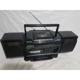 Radio Boombox Jvc Raríssimo Japan Funciona Tudo 80s