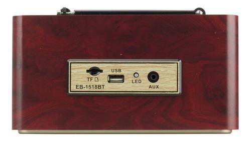 radio caixa som bluetooth am fm vintage retro bateria usb sd