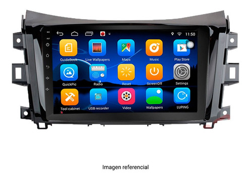 radio carplay 9 pulgadas nissan np300 y navara