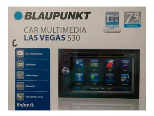 radio carro blaupunkt las vegas530 táctil bluetooth dvd usb.