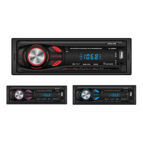 Radio Carro Bluetooth Usb Sd Aux, 3 Colores Control Garantia