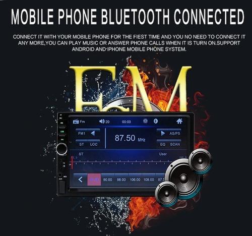 radio carro camara gratis tactil 7'' mirror link modelo 2019