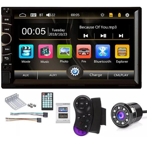 radio carro camara gratis tactil 7'' mirror link modelo 2020