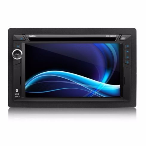 radio carro dvd/usb/bt lcd 6.2plg daiku!!!