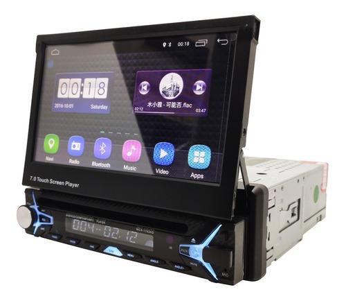 radio carro motorizado android 8.1 cd/ wifi/ gps/ bluetooth