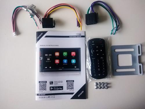 radio carro pantalla tactil 7' mirrorlink bluetooth usb aiwa