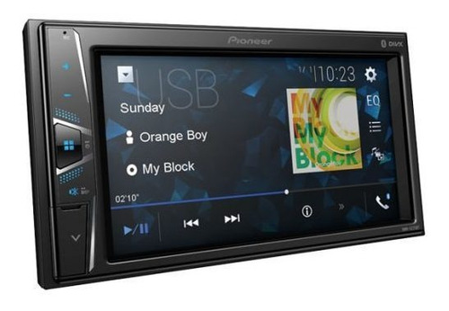 radio carro pioneer dmh-g225bt bluetooth wvga 6,2