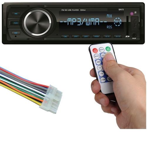 rádio carro toca mp3 usb aux bluetooth usb spotify palio