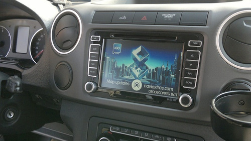 radio caska full tech volkswagen gps tv digital  original