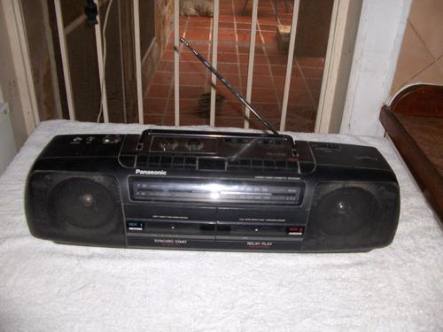 radio cassette ( doble ) panasonic