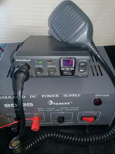 radio cb 40 canales con regulador