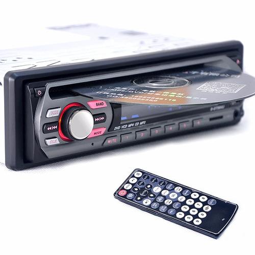 radio cd dvd para carro + usb sd aux salida de video oferta