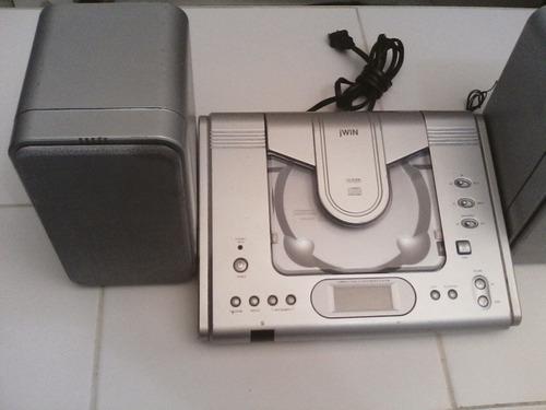 radio cd jwin con 2 cornetas
