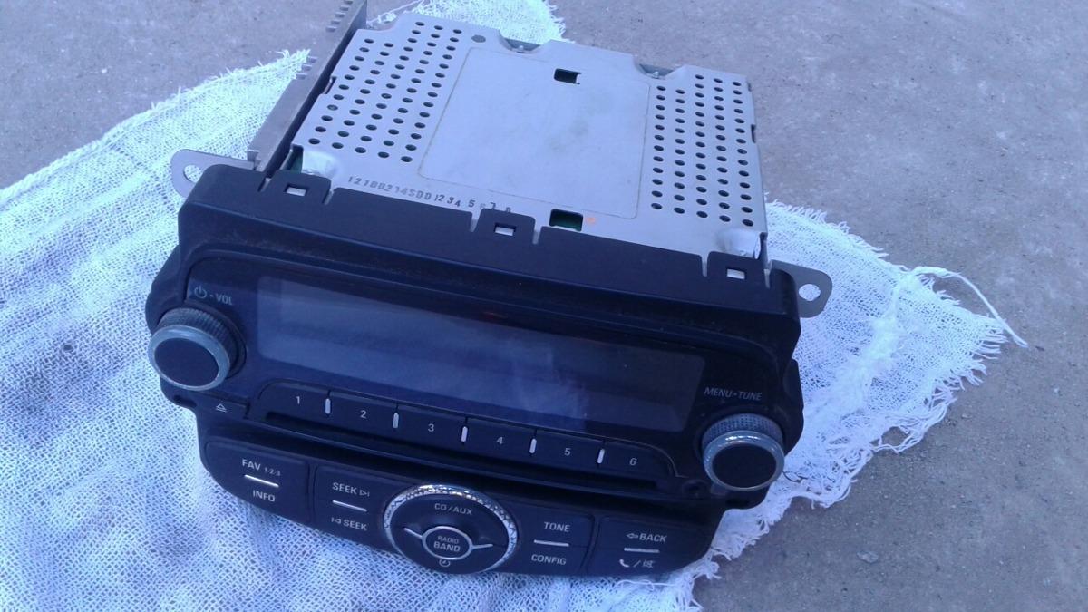 Rádio Cd Mp3 Play Gm Sonic 2014 Original     2632