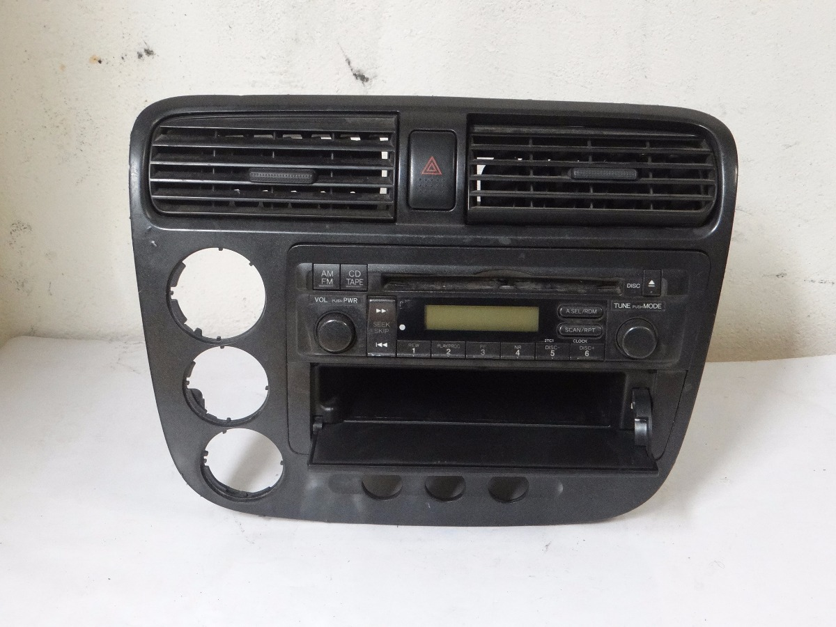 radio cd player am fm auxiliar honda civic 2001 2003. Black Bedroom Furniture Sets. Home Design Ideas