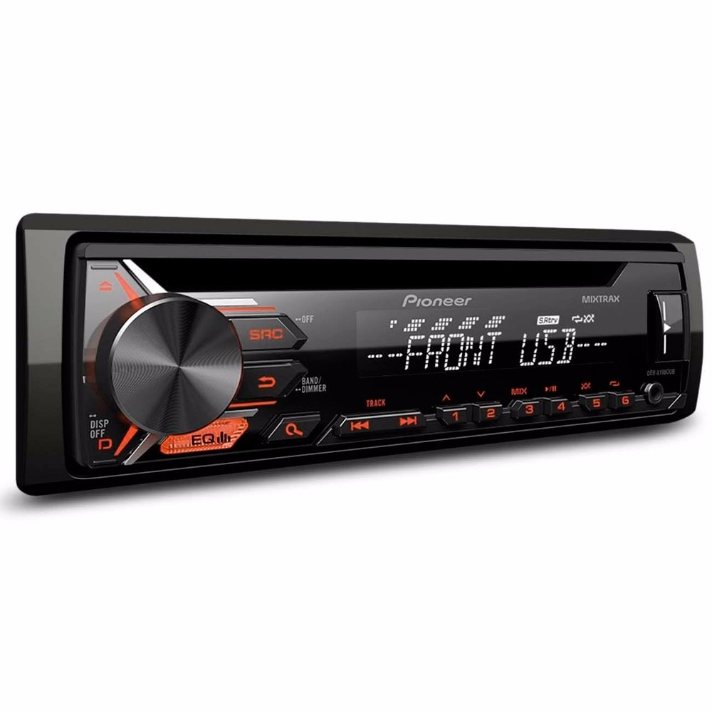 radio cd player mp3 pioneer usb aux x1980ub lan amento. Black Bedroom Furniture Sets. Home Design Ideas