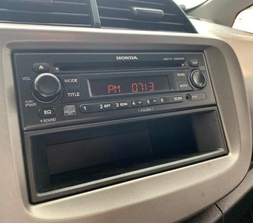 radio cd/mp3, porta objetos e suporte honda fit originais